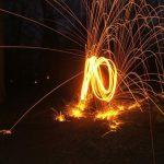 lichtspiele mit feuer